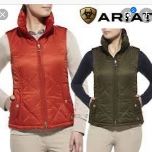 Ariat Women Riding Vest Insulated Poly Sz Large
